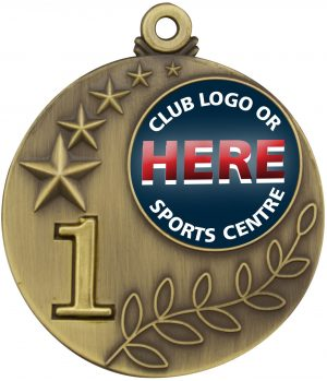 Medal Two Tone 1st