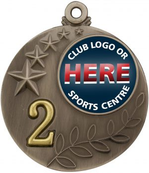 Medal Two Tone 2nd