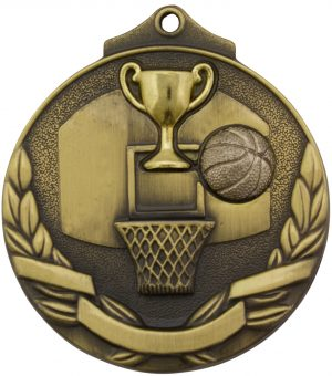 Basketball Two Tone Gold
