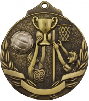 Netball Two Tone Gold