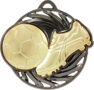 Soccer Vortex Medal Gold