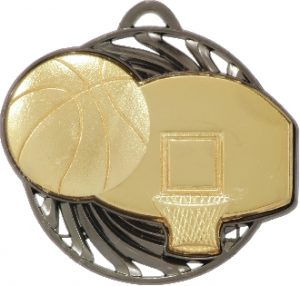 Basketball Vortex Medal Gold