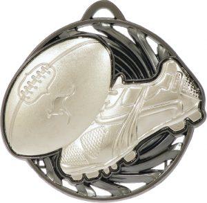 Aussie Rules Vortex Medal Silver