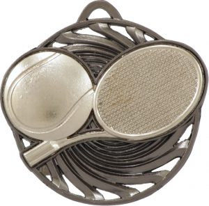 Tennis Vortex Medal Silver