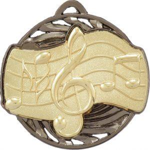 Music Vortex Medal Gold