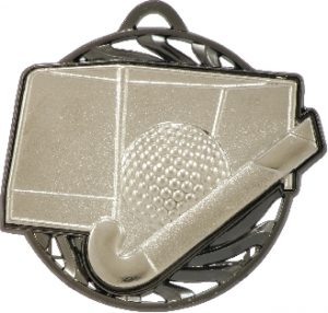 Hockey Vortex Medal Silver