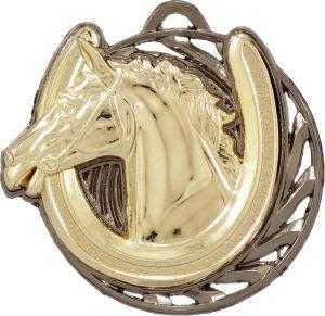 Horse Vortex Medal Gold