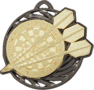 Darts Vortex Medal Gold