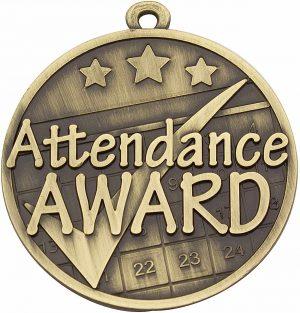 Attendance Gold Medal