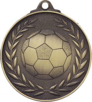 Soccer Wreath - Antique Gold