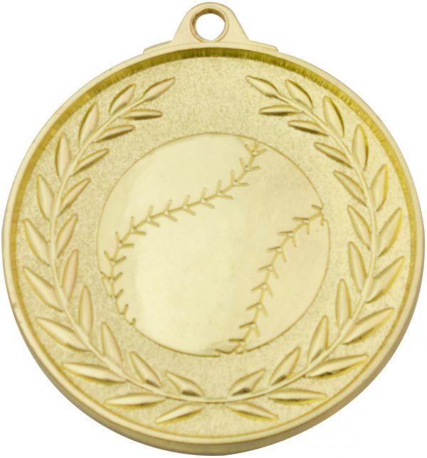 Baseball Classic Wreath Gold
