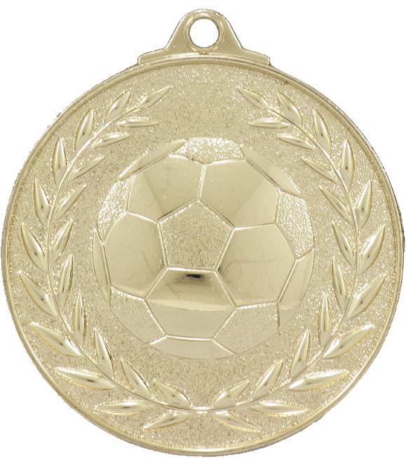 Soccer Classic Wreath Gold