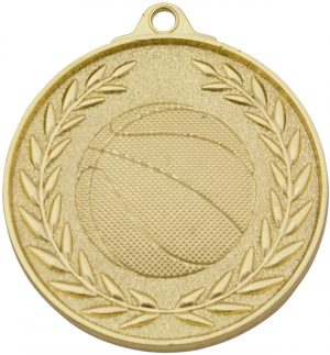 Basketball Classic Wreath Gold