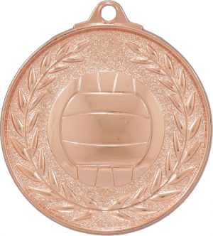 Netball Classic Wreath Bronze