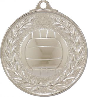 Netball Classic Wreath Silver