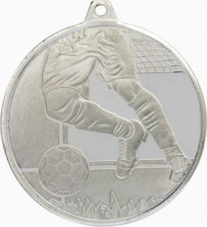 Soccer Glacier Frosted Silver