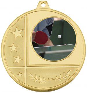 Glacier Medal 25mm Gold
