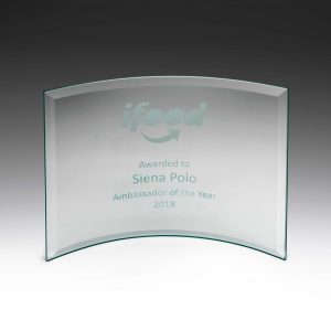 Concave Award Glass 175mm