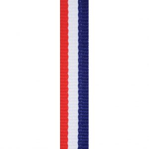 Red / White / Blue Loop Ribbon 12mm