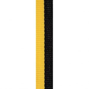 Black / Gold Loop Ribbon 12mm