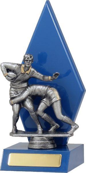 Rugby Blue Arrow 215mm