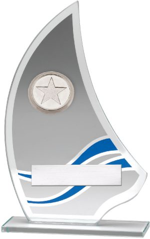 Glass Award Sail 165mm