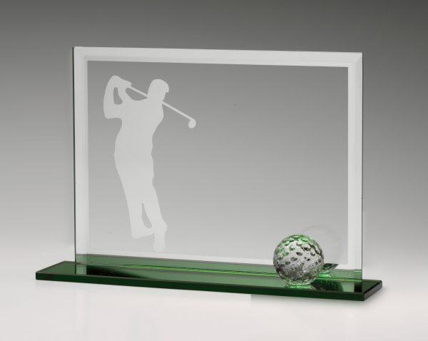 Golf Glass Fairway Award 135mm