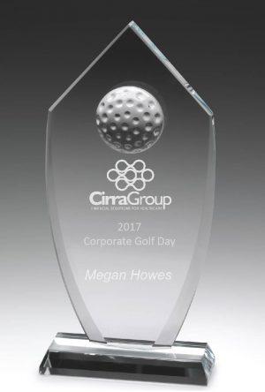 Golf Glass Budget Shield 220mm