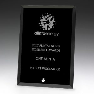 Craft Plaque Black 200mm