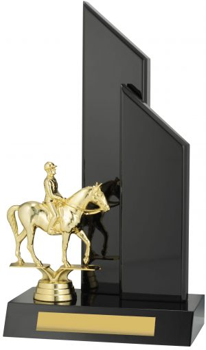 Horse Black Timber 270mm