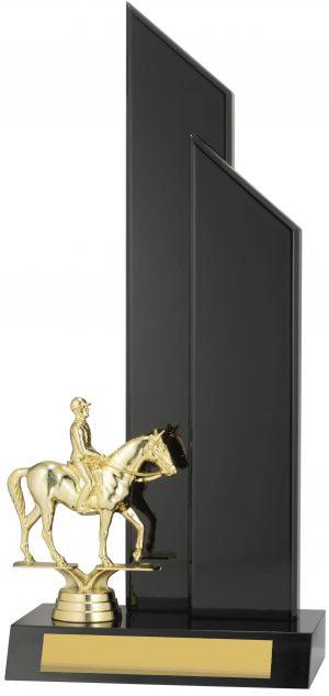 Horse Black Timber 340mm