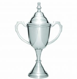 LuxurySilver Cup on Base 200mm