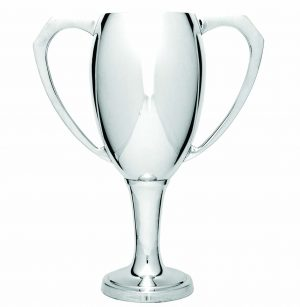 Luxury Silver Cup on Base 150mm