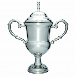 Luxury Silver Cup on Base 200mm